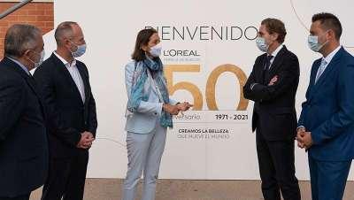 L'Oréal mantiene sus inversiones con España, con su planta de Burgos como estandarte sostenible