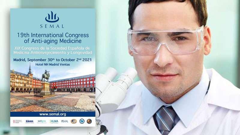 XIX Congreso SEMAL, consulta calendario y programa, Sociedad Española de Medicina Antienvejecimiento y Longevidad