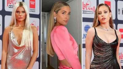 Ester Expósito, María Pombo y Valentina Zenere en los Premios Platino 2021