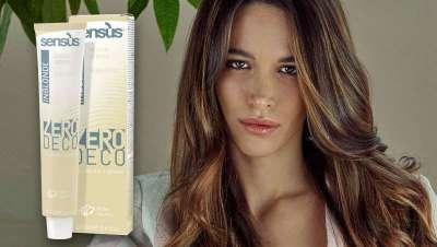 Nova SENS.ÙS Zero Deco, creme aclarante delicada para o cabelo natural ou tingido