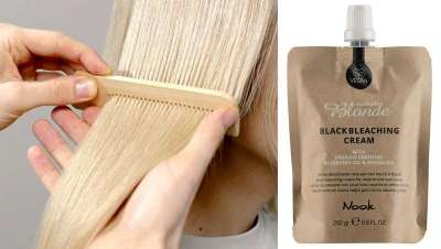 Black Bleaching Cream, ideal para aclarar loiros naturais e conseguir neutros e efeitos frios
