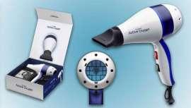 Alta tecnología italiana para el único secador de pelo en el mundo con oxígeno activo, que mejora el color y protege la cutícula