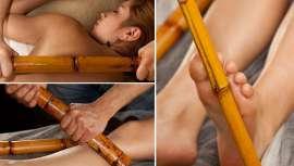 La bambuterapia es una técnica de masaje oriental que, a base de cañas de bambú, consigue unos resultados gratificantes y sorprendentes