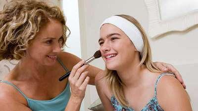 El maquillaje es crucial para las argentinas