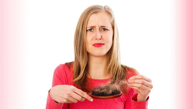 la caida del cabello en la mujer