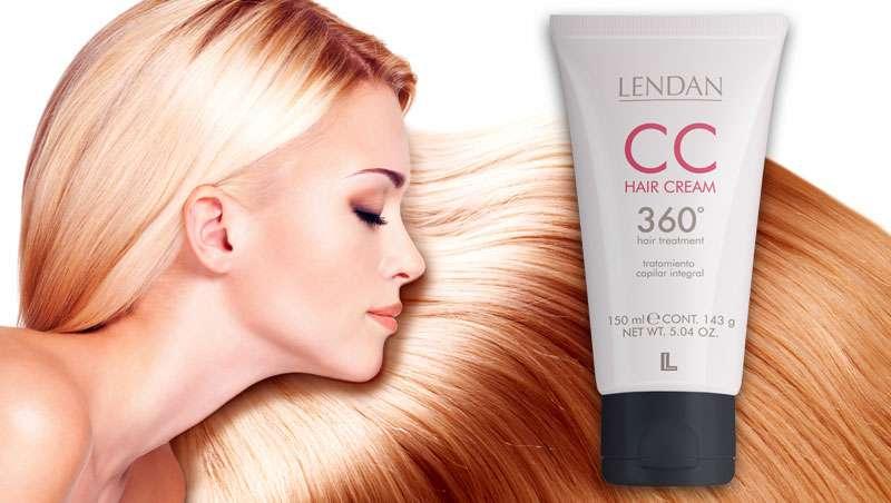 CC Hair Cream de Lendan, 10 beneficios en un solo producto