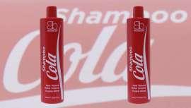 La empresa lanza el Champú de Cola, a base de utilizar los componentes de este refresco, cuyos resultados han hecho furor en EE UU y Latinoamérica al conseguir un acabado swag