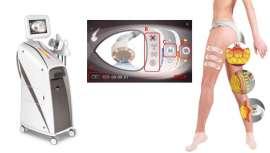Con esta aparatología, Quantum Technology permite combinar tratamientos con buenos resultados. T-Shape dispone de tecnología tres en uno (láser frío lipolítico, masaje subdérmico y radiofrecuencia) con resultados visibles en menos sesiones