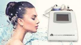 La marca da a conocer Elite Diamond Hydrobrasion 3.0 como nuevo tratamiento antiarrugas sin cirugía. Con este aparato se limpia el rostro y se eliminan las células muertas del mismo