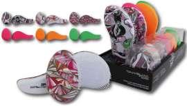 Lim Hair anuncia un nuevo expositor de estos cepillos en seis nuevos tonos y diseños: tres de ellos monocolores y tres más en estampados divertidos