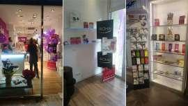 La marca afianza su relación con las franquicias de estética esta campaña de Navidades con escaparates, cosmética flash y cajas de regalo