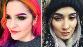 Una de las tendencias en maquillaje para esta temporada son las cejas de colores, un fenómeno que está llenando las redes sociales de color, y que incluso se combina con el tono que escojamos de pelo