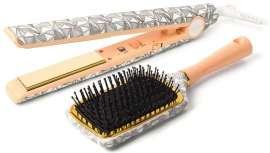 La gama C3 alcanza ahora una temperatura mayor y el nuevo diseño de la plancha C1 se presenta con un cepillo pala a juego