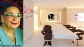 Fue la fundadora del prestigioso centro de formación y distribución de estética Desirée