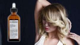The Organic Restructuring Fluid Potion Argán, hecho a partir de ingredientes 100% naturales, proporciona un extra de brillo sin engrasar ni aportar peso mientras que protege al cabello del calor térmico