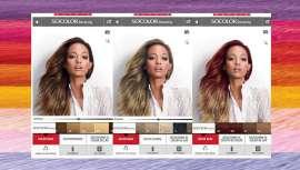 La aplicación muestra las nuevas tendencias en cabello, así como información sobre lanzamientos de la firma. Color Lounge también cuenta con un simulador de color que permite probar nuevos tonos