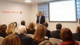 El acto contó con representantes de instituciones políticas catalanas y de la alta dirección de las principales compañías del sector