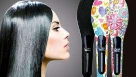 La firma dará a conocer esta innovación en el marco del certamen. El cepillo alisa el cabello rizado, dejándolo brillante y libre de encrespamiento o frizz