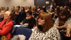 La doctora Folch ha explicado la relación entre la cosmética y la alimentación en el Congreso de STS Beauty Barcelona