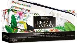 LOréal Professionnel presenta esta plancha, de diseño atractivo, que rinde homenaje a los colores, la alegría y la diversión del país brasileño, donde tendrá lugar uno de los acontecimientos del año: los Juegos Olímpicos 2016