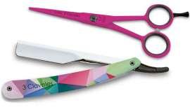 El color se impone en el cabello pero, sobre todo, en las herramientas de trabajo de los estilistas más modernos. Las nuevas tijeras profesionales de 3 Claveles son ideales para ellos