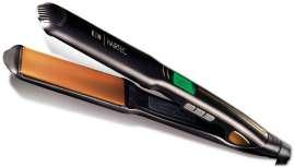 La firma Kin Hairtec, de herramientas profesionales de Kin Cosmetics, lanza esta plancha con la última tecnología en placas cerámicas y turmalina para un alisado ultrarrápido. Además, ofrece un respeto máximo hacia la fibra capilar