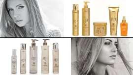Argabeta Up, de Dikson, incluye champú, mascarilla y aceite enriquecidos con una selección de principios activos que protegen y regeneran los cabellos teñidos y tratados o garantizan una acción espesante y voluminizadora en los cabellos finos