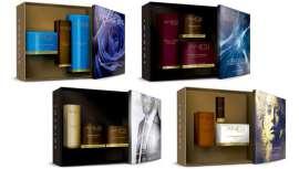 Las nuevas boxes, destinadas a tratar la hidratación y luminosidad de la piel, además de combatir los signos de la edad o la falta de firmeza, incluyen productos de las líneas Infini Jeunesse y Aqua Vital