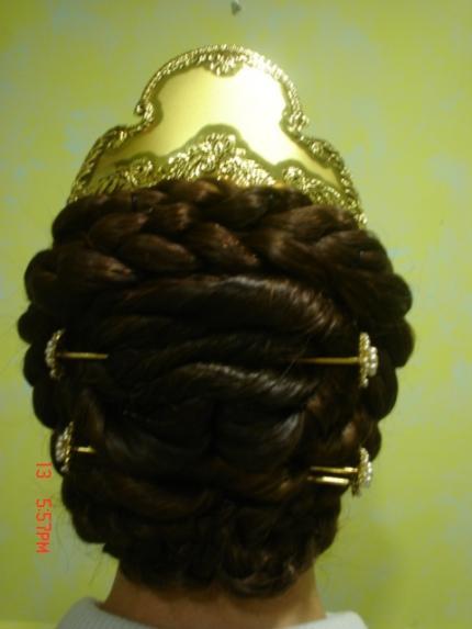 foros peluqueria: peinado de fallera paso a paso
