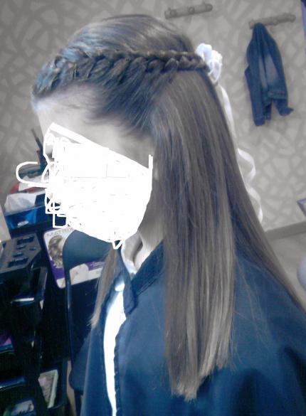peinado comunion - Peinados De Comunion Sencillos