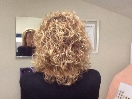 Moldeado de pelo fino