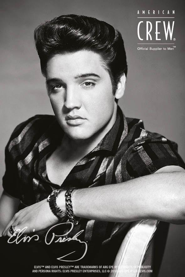 American Crew homenajea a Elvis Presley