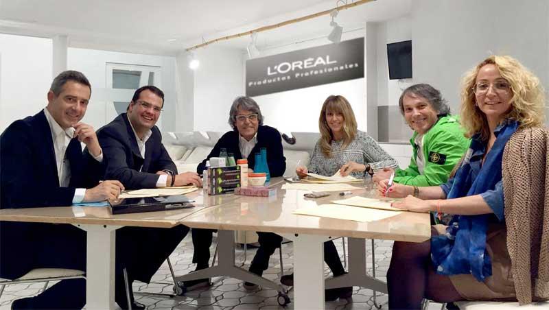 Raffel Pages renueva su alianza estratégica con L'Oréal Productos Profesionales