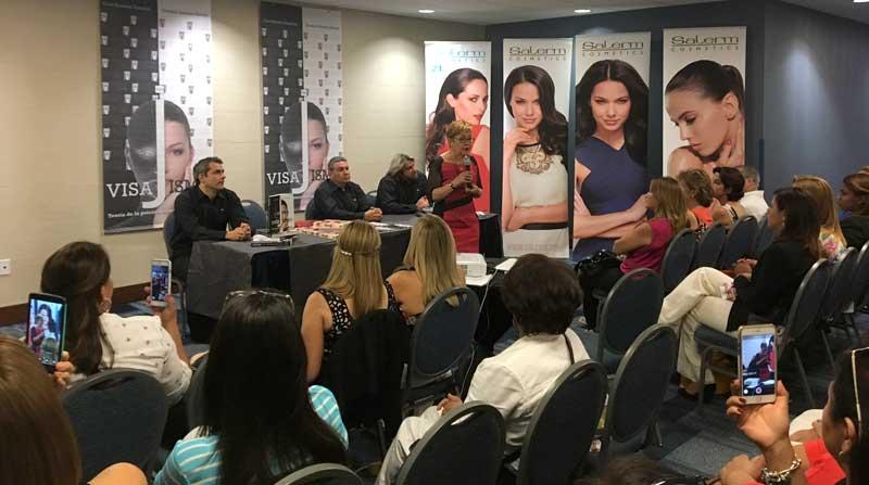 Presentación en Miami del libro sobre visajismo
