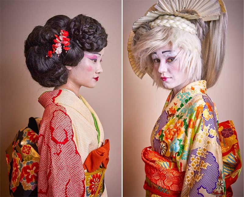Yolanda Aberasturi homenajea a las geishas en Bilbao