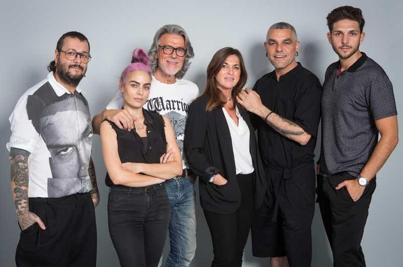 Xavi García, Beatriz Matallana, Alberto Cerdán, Ana Lérida, Crisanto Blanco y Sergio Adonay