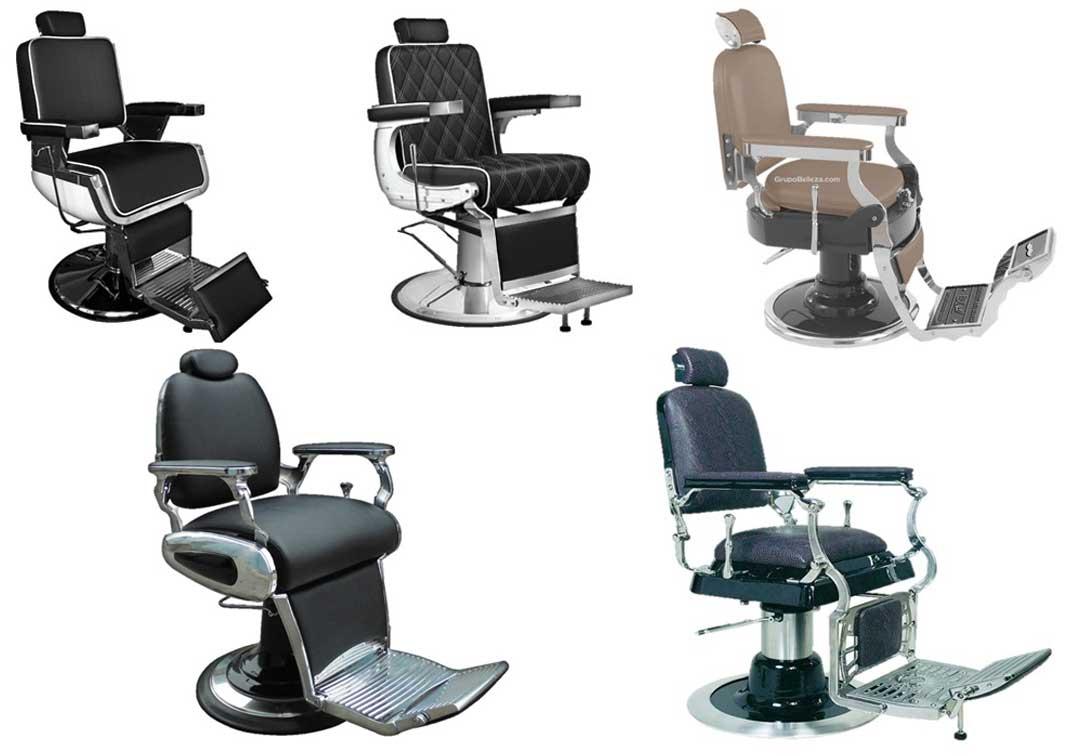 Grupo belleza presenta su nueva colecci n de sillones de barbero - Sillones de peluqueria ...