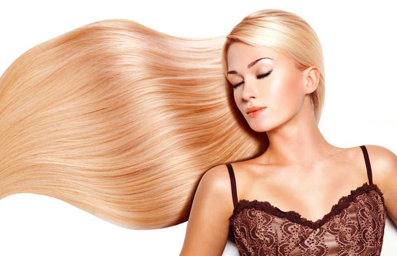 cabello tratado con enzimoterapia