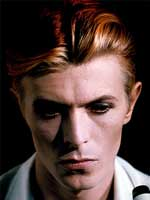 mechón de David Bowie