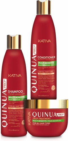 Kativa Quinua, alimento sagrado para el cabello