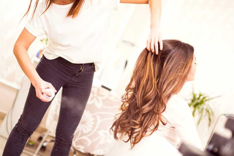 strobing hair