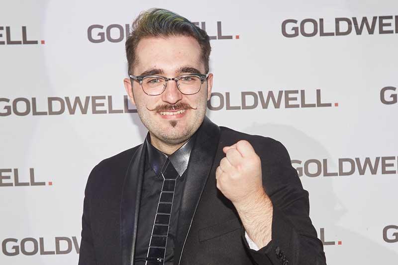Alejandro Buil Loras en la Final Internacional de Color Zoom de Goldwell