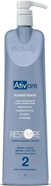 Restore Plus de Prolab, crema alisadora suave con 10 beneficios reales en el cabello