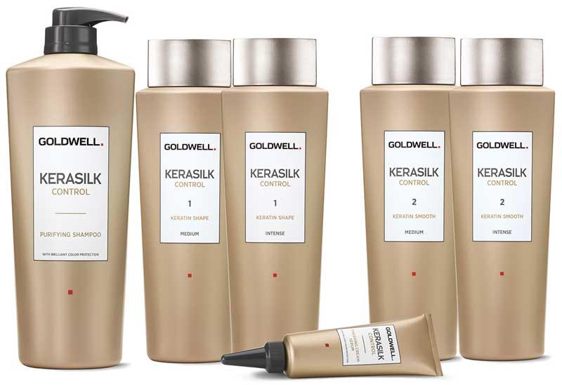 Tratamiento Kerasilk Keratin de la linea Kerasilk Control de Goldwell