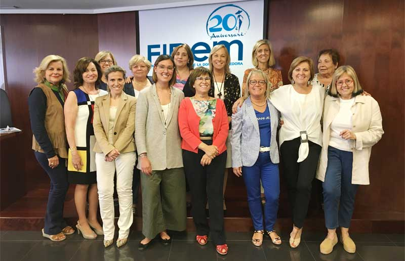 La Fundación VMV Cosmetic Group firma un convenio de colaboración con la Fundació Internacional de la Dona Emprenedora (FIDEM)