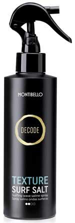 Montibello presenta Decode Texture, nueva línea de styling