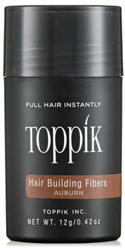 Toppik Hair Building Fibers color rojizo tendencia en 2017