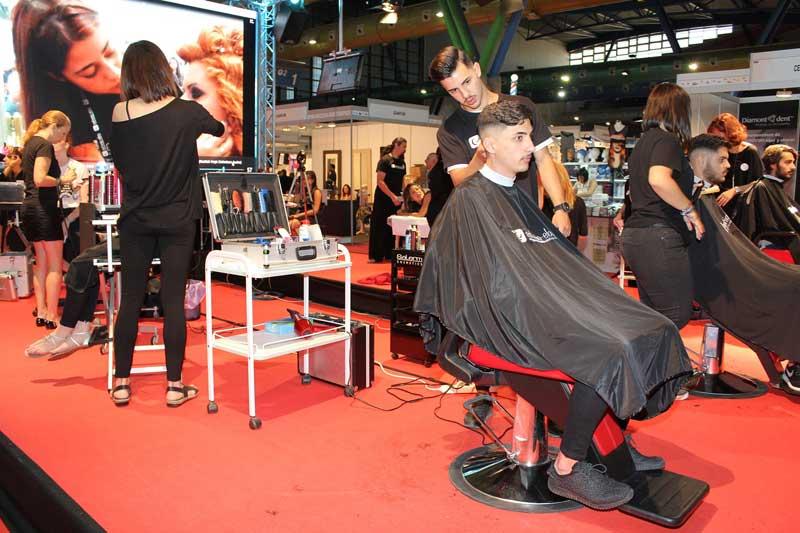 Estilo MLG, salón de peluquería, barbería, belleza y estética
