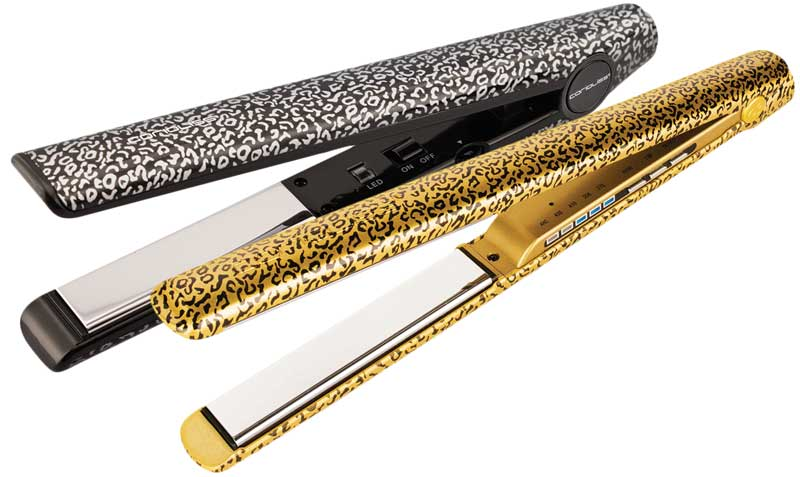 Corioliss ha reeditado este exitoso diseño en dos de sus más representativas gamas de planchas: C3 y C1, y en su cepillo Hot Brush