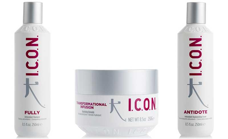 Aporta fuerza y vitalidad al cabello con la línea Regimedy Antioxidante de Icon